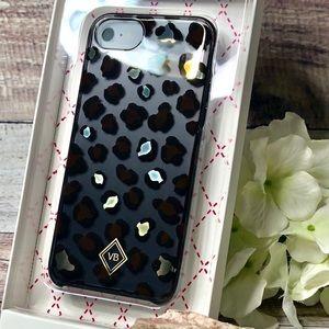 Vera Bradley leopard flexible phone case